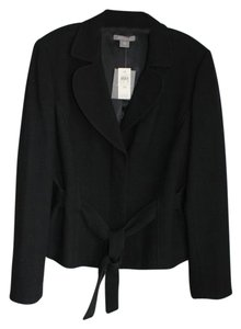 Ann Taylor Belt Lined Black Blazer