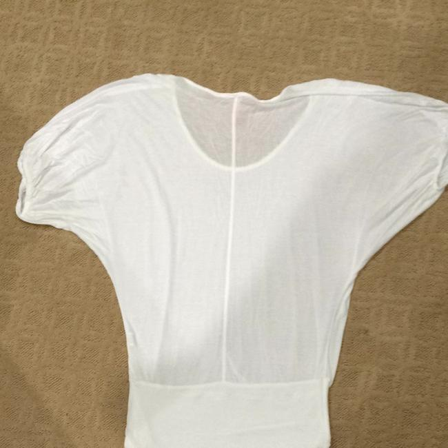 Eight Sixty Short Sleeve Top White