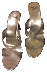 Mootsies Tootsies Heel Wedding Silver Sparkle Formal