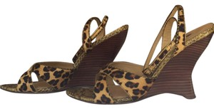 Laundry by Shelli Segal Leopard print Wedges
