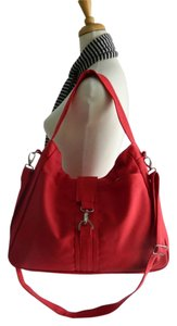 Handmade Shoulder Red Messenger Bag