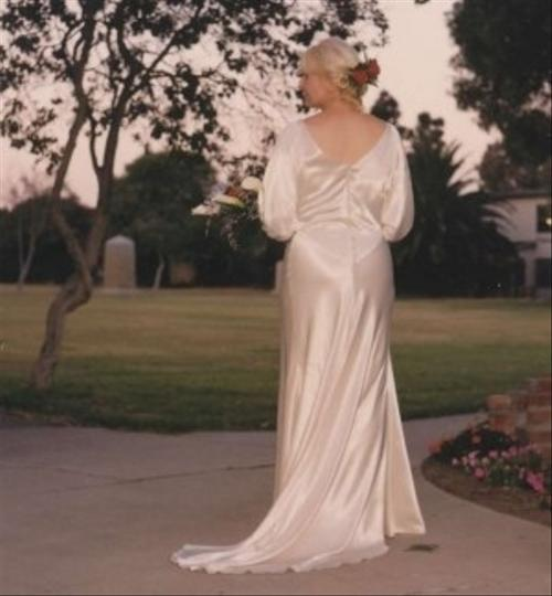 Wedding Gown 1930's Era. Wedding Dress