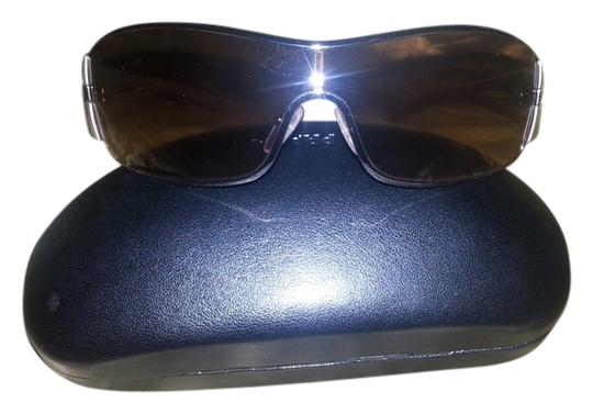 Prada AUTHENTIC PRADA SPR56H IBC-651 -125 GOLD BROWN UNISEX SUNGLASSES