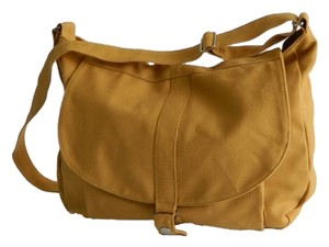 Handmade Shoulder Mustard Yellow Messenger Bag