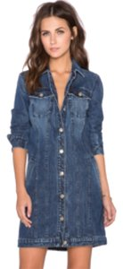 7 For All Mankind Stonewash Denim Womens Jean Jacket
