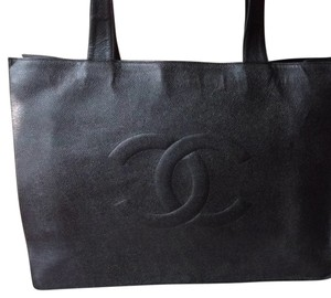 Chanel Vintage Louis Vuitton Tote in Black