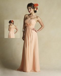 Forever Yours Peach 711209fl Dress