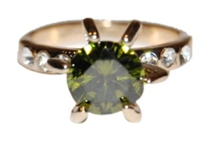 other Green Peridot Ring