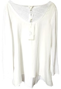 Joie Soft Long Sleeve Long Sleeves Top Off White