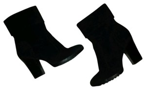 a.n.a. a new approach Suede Bootie Black Boots
