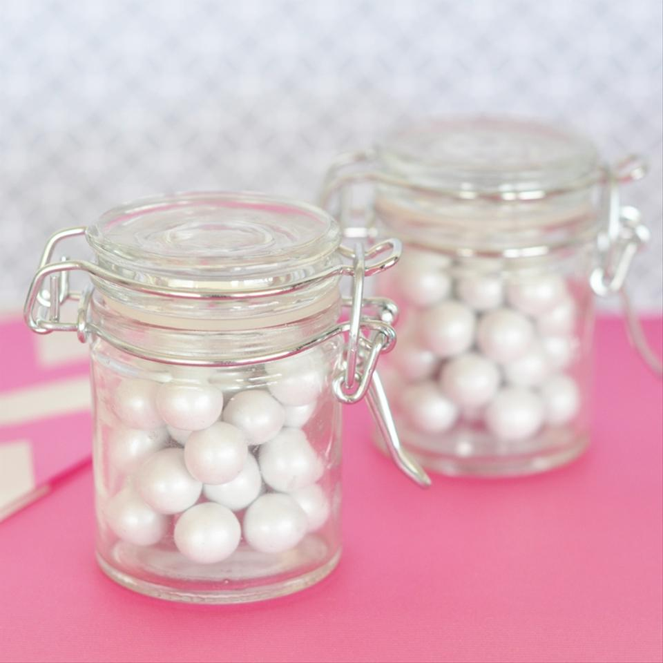 Event Blossom Glass 100 Diy Blank Jar with Swing Top Lid Wedding ...