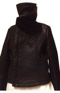 Bagatelle Faux Leather Motorcycle Jacket