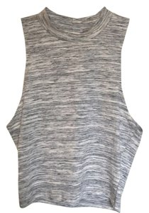 Charlotte Russe Top Grey/tan
