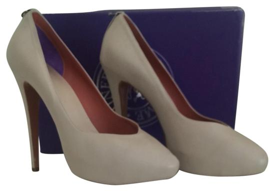 Guillaume Hinfray Light gray Pumps