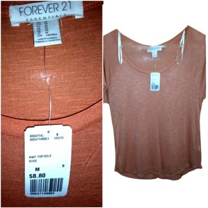Forever 21 T Shirt Coral