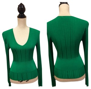 Thierry Mugler Top Emeral Green