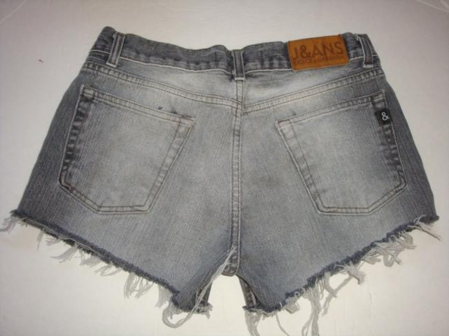 Dolce&Gabbana Dolce And Gabbana Button Fly Cut Off Vintage Denim Shorts-Distressed