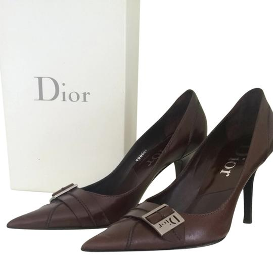 Dior Marron Moyen Pumps
