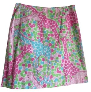 Lilly Pulitzer Skirt pink/green/turquoise