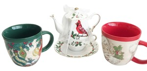 Other Holiday Mug & Tea Set by GRACE TEAWARE [ Roxanne Anjou Closet ]