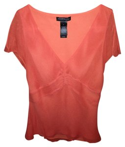 Kenneth cole Top Orange