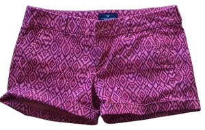 American Eagle Outfitters Cuffed Shorts Ikat