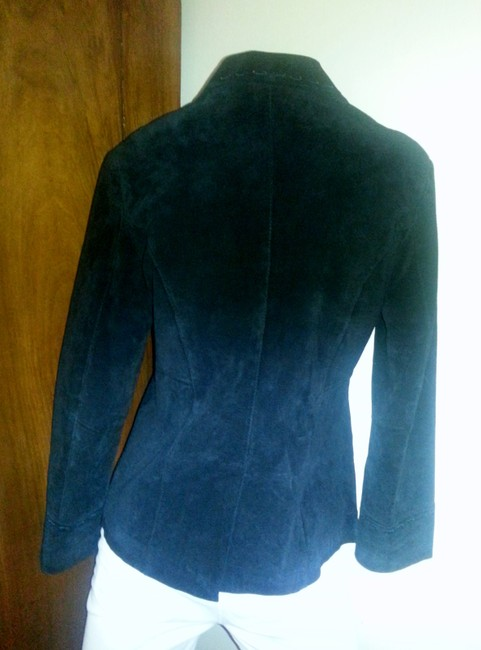 TeX Suede Stitching Leather Jacket
