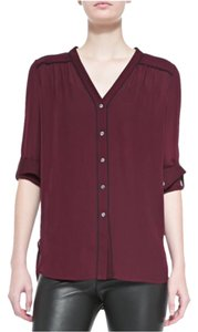 Vince Top Maroon/Burgandy
