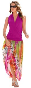Boston Proper Maxi Skirt Multi
