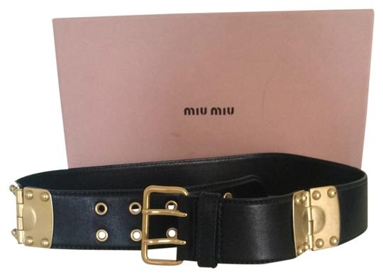 Preload https://item5.tradesy.com/images/miu-miu-blackgold-leather-with-light-hardware-belt-1277164-0-0.jpg?width=440&height=440