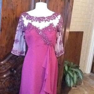 Alfred Angelo Cameo/berry Dress