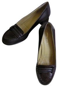 Easy Spirit Leather New In Box Dark Brown Pumps