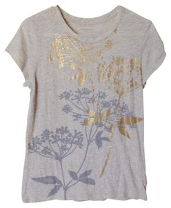 Banana Republic T Shirt Oatmeal/Multi
