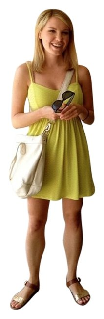 Xhilaration short dress Yellow on Tradesy