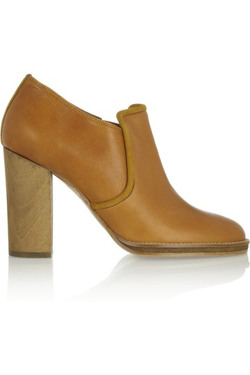Isabel Marant 70s Leather Tan Boots