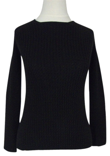 The Row Cable Knit Three Quarter Sleeve Sweater
