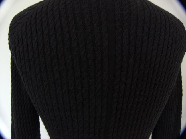 The Row Cable Knit Three Quarter Sleeve Cashmere Sweater
