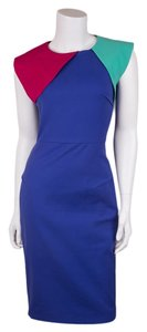 Roland Mouret short dress Blue on Tradesy
