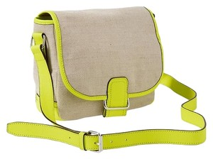 Gap Neon Leather Spring Cross Body Bag