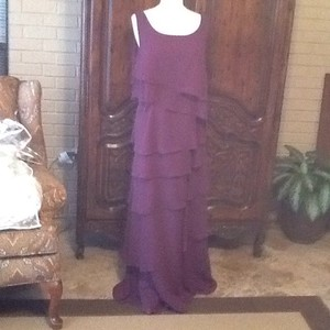Alfred Angelo Grape Dress