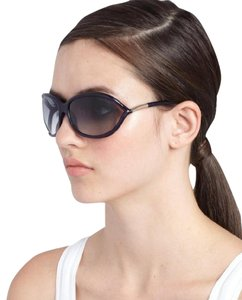 e944b04515 Tom Ford Shiny Black Jennifer Soft Square Polarized 0008p Sunglasses ...