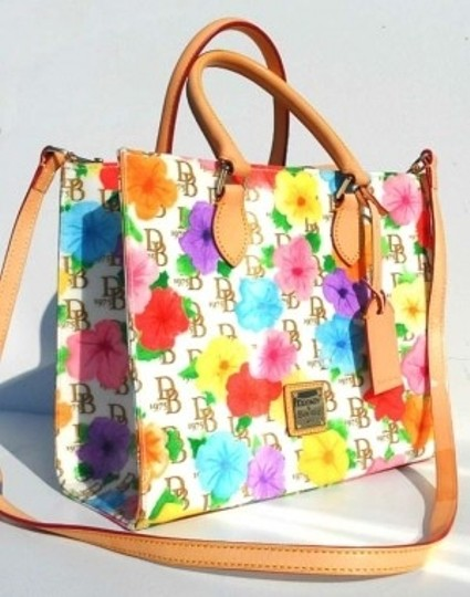 Dooney & Bourke Satchel in Multi-Colored