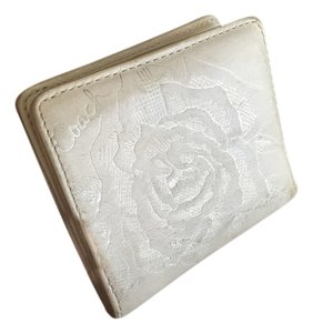 Coach White leather Coach wallet
