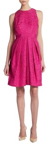 Carmen Marc Valvo Pink Sz 8 Dress