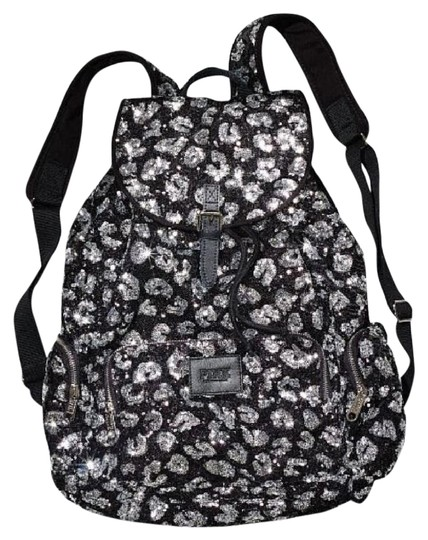 PINK Discontinued Limited Edition Canvas Sequin Backpack