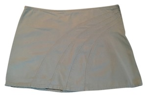 Sisley Khaki Mini Skirt Tan