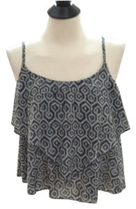 Gap Cami Top Gray and white