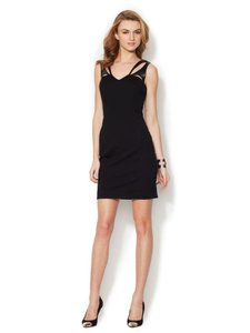 Cynthia Steffe Lbd Leather Dress