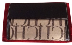 Carolina Herrera Wristlet in Tan/Brown