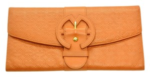Anthropologie orange Clutch